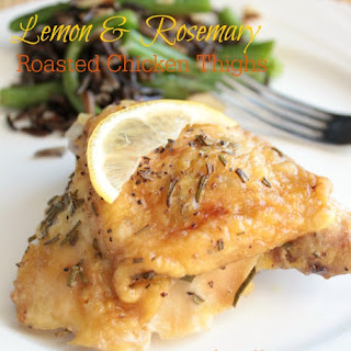 Lemon & Rosemary Roasted Chicken Thighs