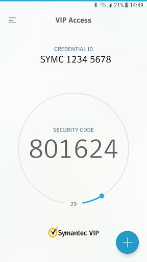 VIP Access screenshot 1