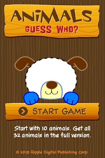 Animals - Guess Who? - screenshot