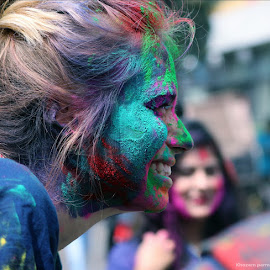 Holi  by Khozem Parmar - People Street & Candids