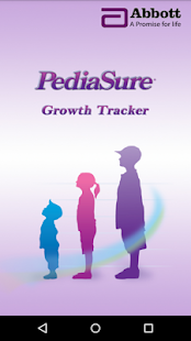 PediaSure Growth Tracker - screenshot