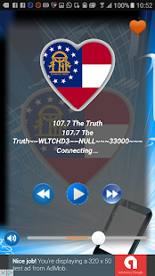 Radio Georgia USA PRO+ - screenshot