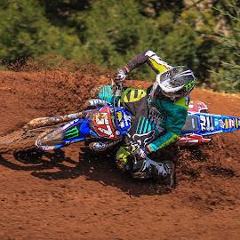 Motocross by Dirk Luus - Sports & Fitness Motorsports ( mud, motorbike, motocross, motorcycle, dirt, motorsport,  )