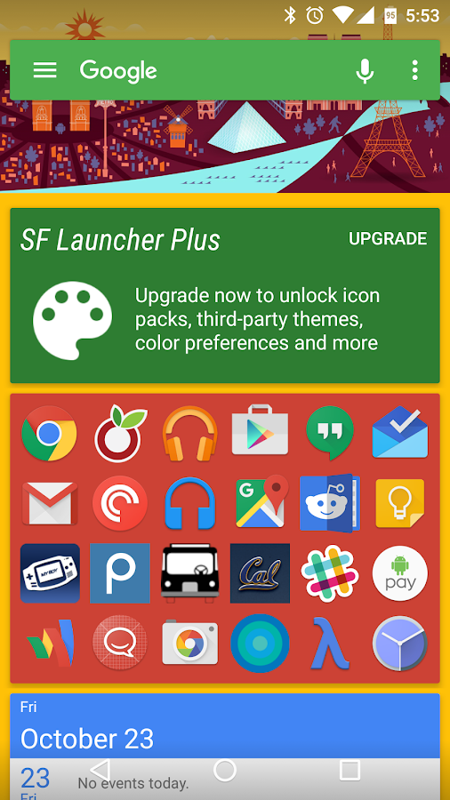 SF Launcher 2 Screenshot 7