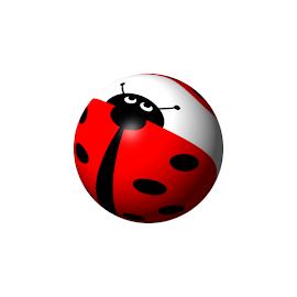 Ladybug Globe by Henrik Lehnerer - Illustration Animals ( tiny, graphic, cartoon, bright, illustration, wildlife, beauty, protecting, insect, spring, beetle, spot, looking, life, nature, ladybird, biology, black, closeup, globe, animal, spots, wild, isolated, critter, symbol, art, beautiful, luck, white, crawl, antenna, up, environmental, lucky, red, environment, color, background, lady, summer, bug, zoology, ladybug, small, garden, natural )