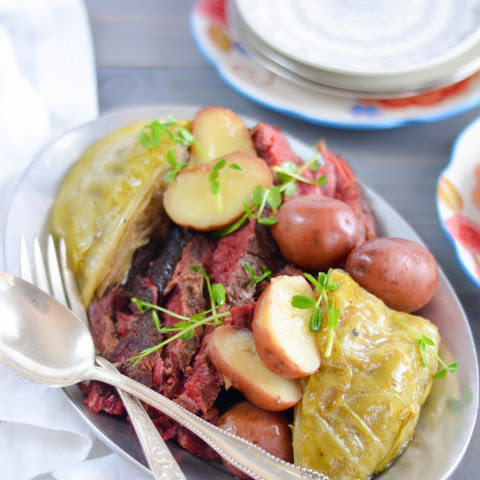 The Best Corned Beef and Cabbage