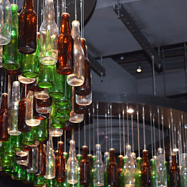 Bottles by Sierra Michele - Abstract Patterns ( lights, artsy, artistic objects, bottles, photography )