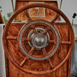 Steering Wheel by Marco Bertamé - Artistic Objects Other Objects