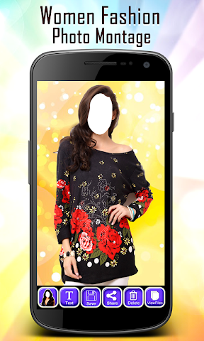 android Women Fashion Photo Montage Screenshot 6