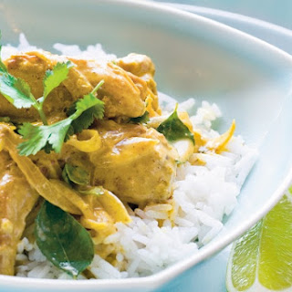 Curried and Coconut Chicken Breast