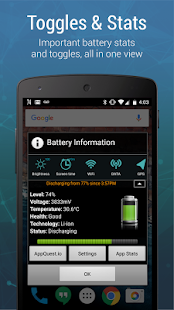 Battery Widget Charge Level % APK baixar