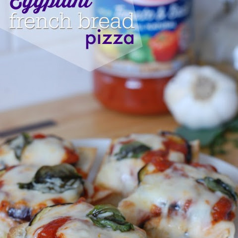 Eggplant French Bread Pizza