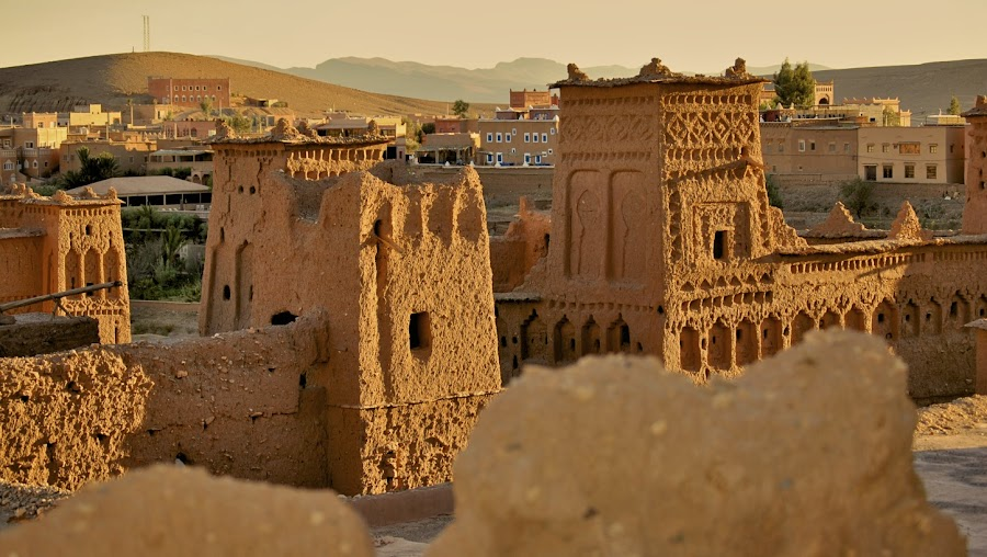 Morroco- Kasbah  by Paulii Good - Buildings & Architecture Statues & Monuments