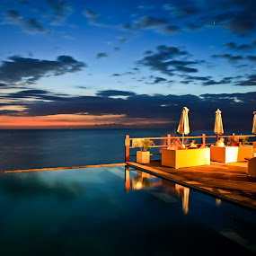 Bali by Handoko Lukito - Landscapes Waterscapes ( water, sunset, place )
