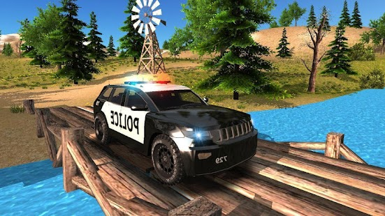 Police Car Offroad Driving for pc