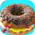Game Rainbow Donut Cake Maker Chef APK for Kindle