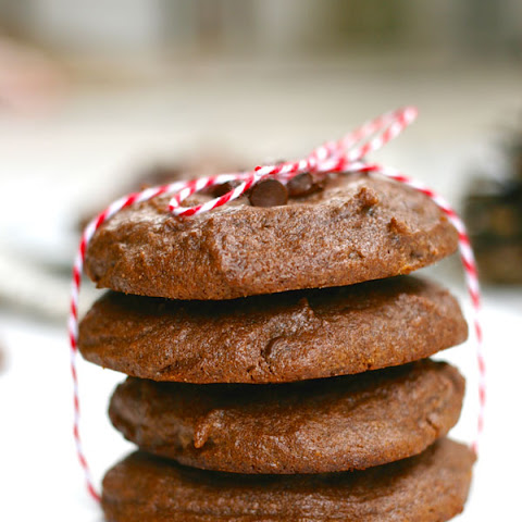 Gluten-free Chocolate Peanut-butter Cookies