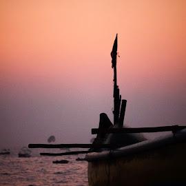 Sunset by Chandrasekhar Ravulapalli - Landscapes Sunsets & Sunrises