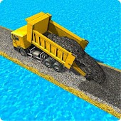 River Road Builder: Roadworks APK for Bluestacks