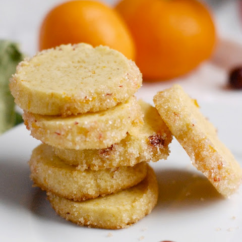 Satsuma Cranberry Sablés (adapted from Orangette, by way of Amanda Hesser)