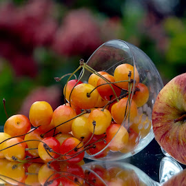 Apple n berries by Asif Bora - Food & Drink Fruits & Vegetables