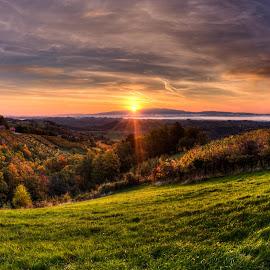Sunrise by Nejc Kostanjšek - Landscapes Sunsets & Sunrises ( sky, nature, sunrise, morning, landscape,  )