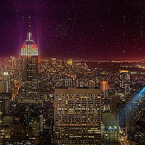 Empire State by Henry Kurniawan - City,  Street & Park  Vistas