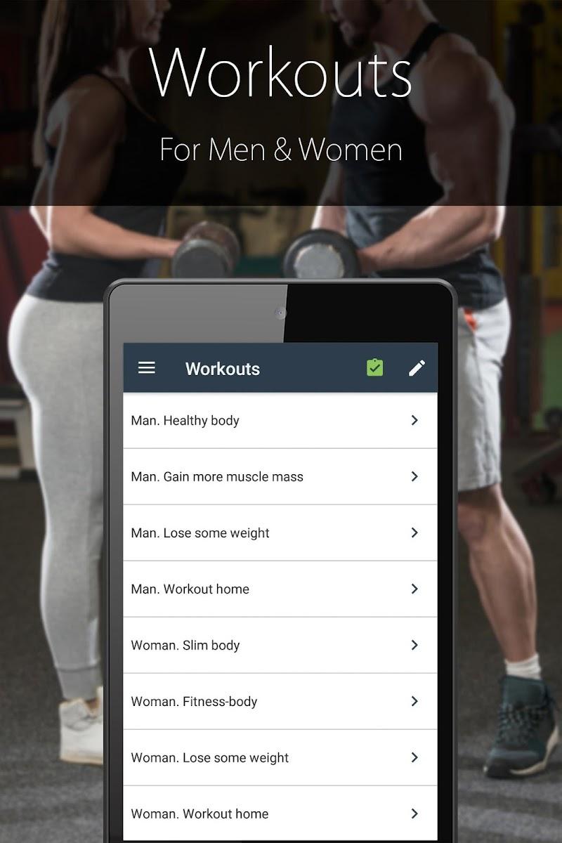 Fitness Trainer FitProSport FULL Screenshot 3
