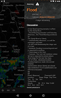 Screenshot of MyRadar Weather Radar