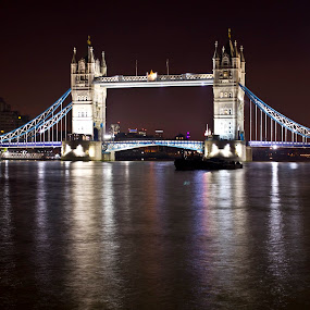 Tower Bridge by Ashish Jain - Buildings & Architecture Bridges & Suspended Structures