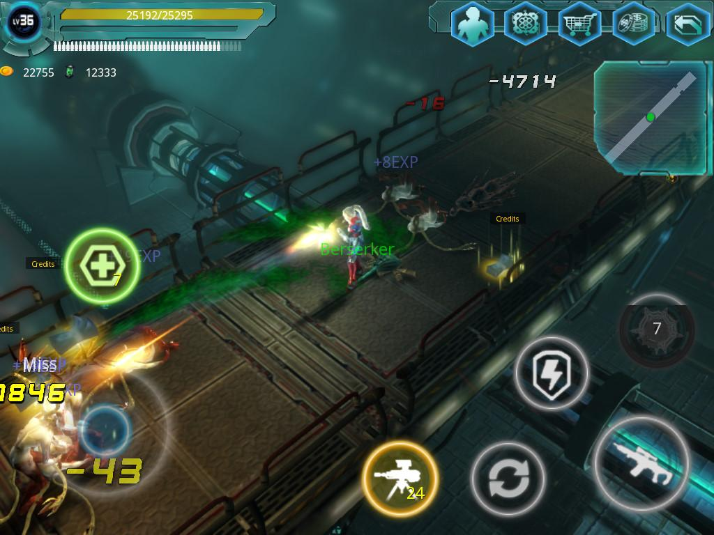 Alien Zone Raid Screenshot 9