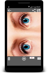 App Eye Color Lenses Photo Editor apk for kindle fire