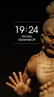 ZUI Locker Theme - Buddhism - screenshot