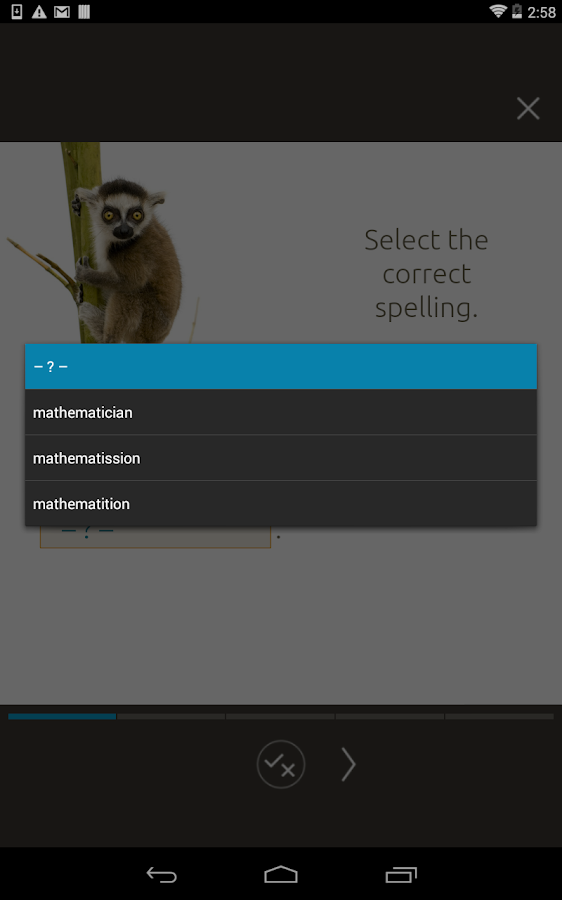 Graded Grammar (Key Stage 3) Screenshot 9