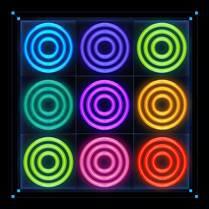 Merge Rings Neon For PC (Windows & MAC)