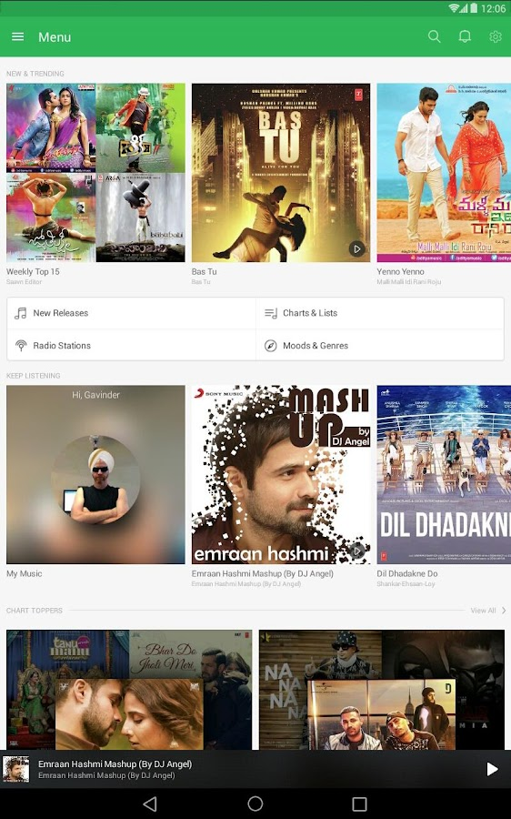 Saavn Music & Radio Screenshot 7
