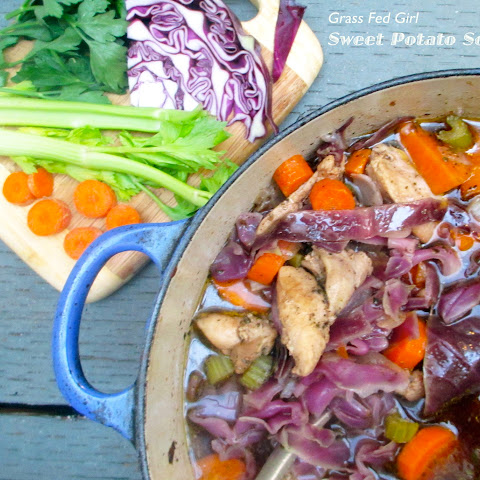 Paleo Sweet Potato Chicken Soup