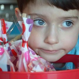 Grumpy Valentine by Shannon Maltbie-Davis - Babies & Children Children Candids