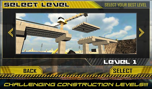 Game Bridge Builder Crane Operator APK for Kindle