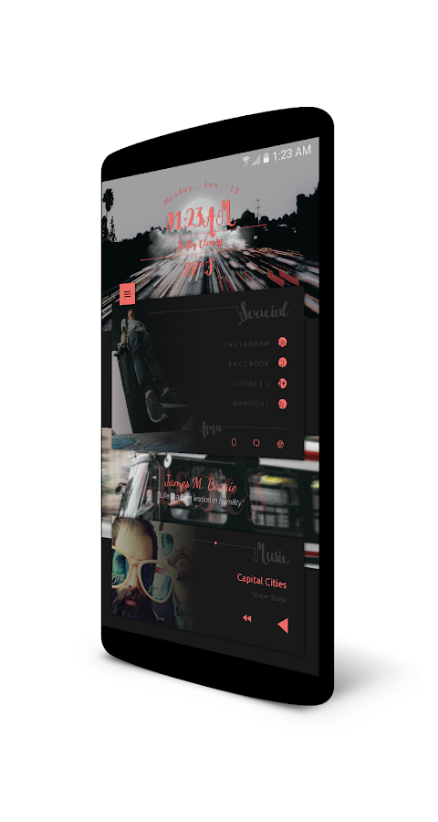 DarkArds for KLWP Screenshot 5