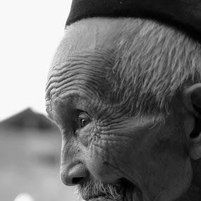 MASTER OF LIFE by Bhako N Bhako - People Portraits of Men