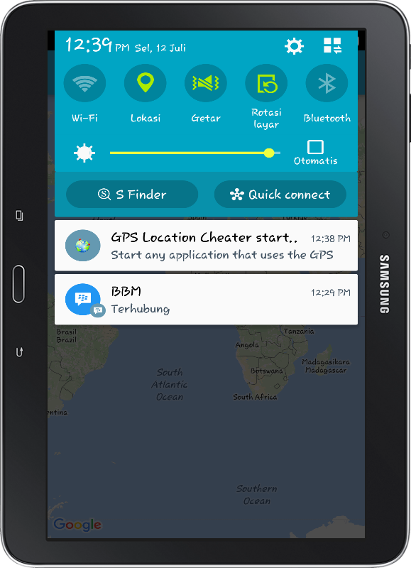 GPS Location Cheater PRO Screenshot 9