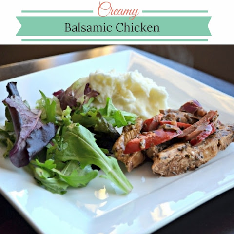 Creamy Balsamic Chicken