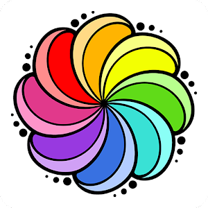 🎨 Color your stress away with Animals, Flowers, Mandalas and more designs! 🎨 APK Icon