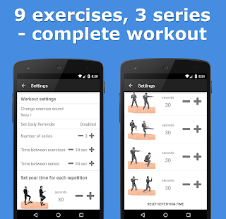 Street Fighting Style Workout+ - screenshot
