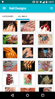 Screenshot of Nail Designs