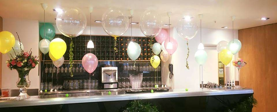 Waitrose Confetti bubble balloons