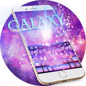 Free Galaxy Keyboard Theme APK for Windows 8