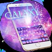 Galaxy Keyboard Theme APK for Blackberry