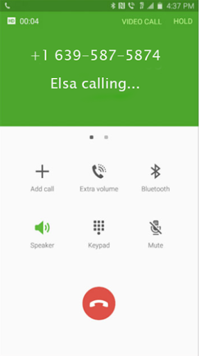 call from Elsa prank For PC